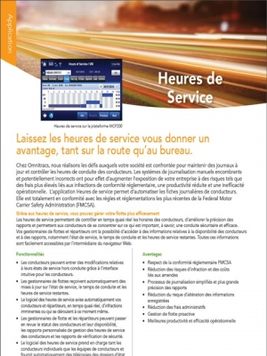 hours of service brochure thumb french
