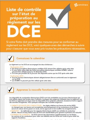 eld preparedness checklist thumb french