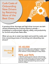thumbnail image for eld driver retention model infographic