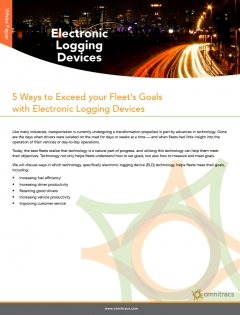 thumbnail image for 5 ways to exceed your fleet's goals with elds whitepaper