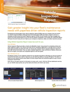 thumbnail image for vehicle inspection report brochure